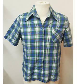 b791acb924518 Vintage Unbranded - Size  M - Emerald green - Short sleeved shirt