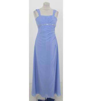 BNWT Kelsey Rose Size XS Lilac Blue Sleeveless Gown f81b2c714