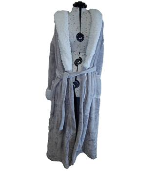 BNWT Marks  amp  Spencer Womens Dressing Gown size 16 ... 94e893af6