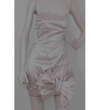 a3449e2116 Karen Millen Size 12 Ivory Strapless Dress