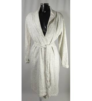 9509c140ec BNWOT M amp S Dressing Gown - Grey Cream - Size 12 14 M amp