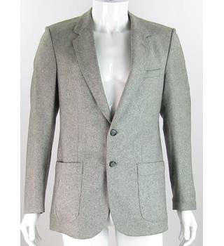 9cc452bbe2bf6 Vintage Burton Size 38 quot  chest Grey Wool Mix Single Breasted Sport  Jacket