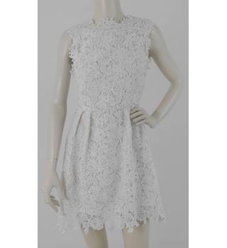 Bnwt Asos Zibi London Size 8 White Lace Dress Oxfam Gb Oxfams Online Shop