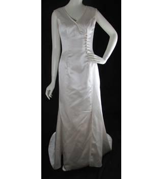 60068f8956da BNWOT - Alan Hannah - Size: 10 - Champagne - A-line wedding Dress