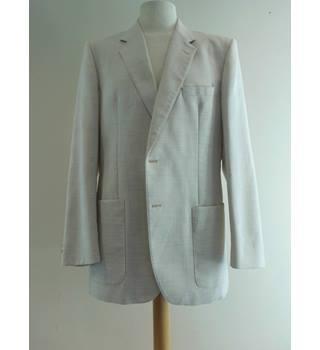4b8048fccba13 Burton - Size  42 quot  - Cream   ivory - Linen Wool Smart jacket