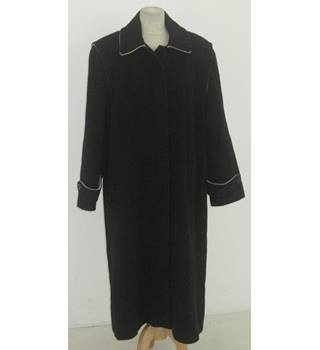 fe4477cf58 Vintage 1940s Utility Marked Unbranded Size M navy-blue swing coat