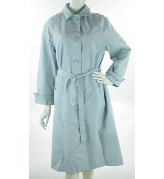 49a4c4e68ccb5 VINTAGE St Michael - Size  12 - Light Blue - Rain Coat