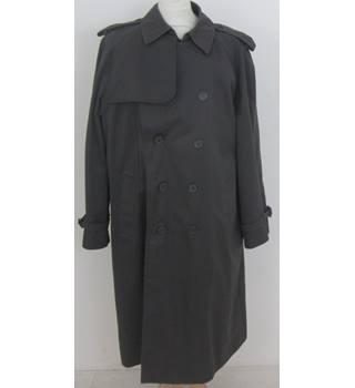 a577a5841bf93 Vintage M amp S St Michael Size 44 quot  chest Grey Trench-coat · Vintage  M S St Michael ...