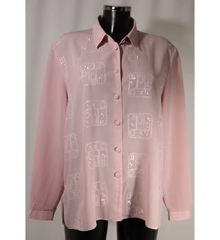 a43b40f2f8 Vintage Canda Blouse - Dusky Pink - Size 18 Canda - Size  18 - Pink