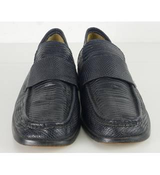 ef97e0e23e3 Tony Leather Designer Size  9 Black All Leather Loafers