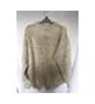 9134e98ccd755 Vintage Men s Burtons Jumper Sweater Retro Burton s - Size  M - Cream    ivory -