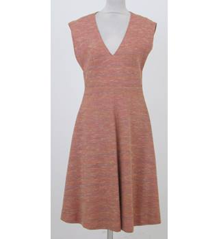 a791fa35f562 Vintage Unbranded Size S salmon sleeveless or pinafore dress