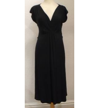 a93be4de671d6 New Look -size 10 - Black- Calf length Maternity dress