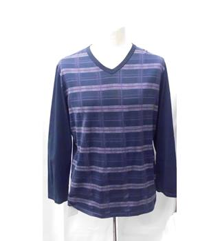 8d181075db08a4 Long Sleeved Top Hom Chic - Size  S - Blue - Long sleeved T-