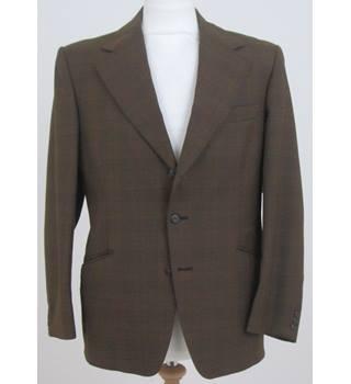 7b1e1cc6ae57e Vintage John Collier Size M Brown Single Breasted Blazer