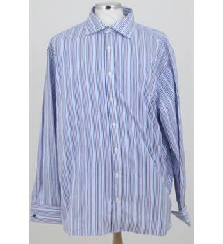 6e130809fd1f M amp S Collection size  collar  18 quot  blue purple white long