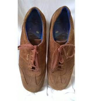 ab3e7ee6ee5e Ted Baker Tan Suede Trainers Ted Baker - Size  11 - Brown - Trainers
