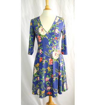 48bbc3d2d3 Asos 12 Multi Poly Elastane Maternity Dress