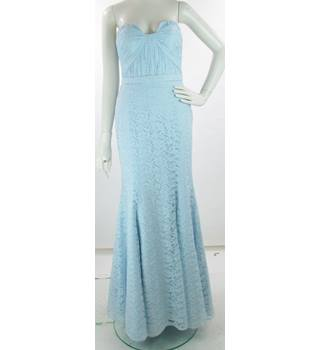 bec7e205069 BNWT - Wtoo - Size  12 - Light Blue - Strapless Amour Lace Full-