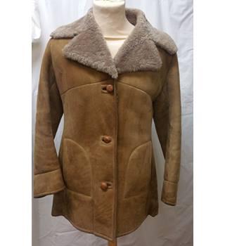 a6cf9ca521c44 Unbranded vintage Sheepskin suede Jacket size 40 chest Unbranded - Size  M  - Brown