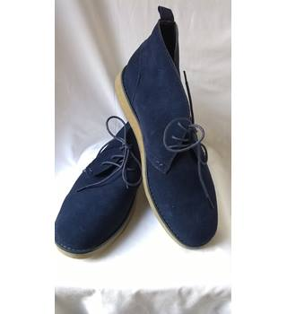 d0c8666ae6b Lambretta Suede Desert Boots Lambretta - Size  11 - Blue - Desert boots