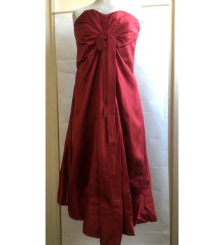 84864bb0132 Nicole Farhi red silk dress - Size 12 Nicole Farhi - Size  12 - Red