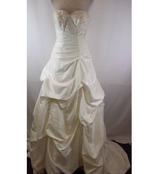 8d15558d4f Trudy Lee - Size  12 - White - Strapless wedding dress