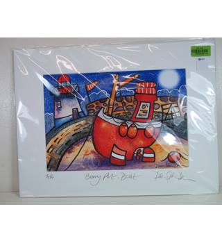 5183dc6d2dd Numbered Signed Print. Burry Port. 2004