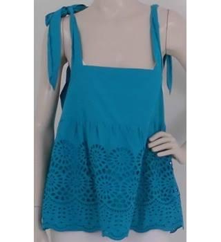 de110ce0fbd4a NWOT M&S Size 10 Turquoise Smock Top
