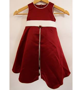 431888b8fbd5 Crimson and white baby dress Unbranded - Size  0 - 12 months - Red