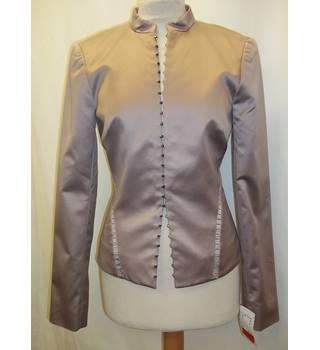 94d706173b AMANDA WAKELEY - Size  8 - Taupe - Silk - Skirt  amp  ...