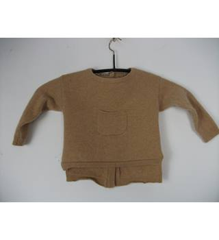 9e6f90cadb91 Next Camel Coloured Baby Cashmere Top Size 9 - 12 months