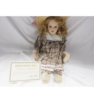 bd63dbf1008 Victoriana porcelain doll by Andrew Schofield Andrew Schofield