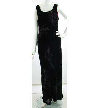 3ad207aa218 Vintage - 1990 s - Laura Ashley - Size  16 - Black - Silk Mix -