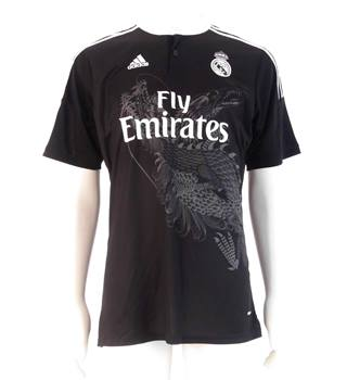 new concept 21acd 8e9a6 2014/15 Real Madrid 3rd Football Shirt - Yohji Yamamoto design - Ronaldo #7  - Size XL | Oxfam GB | Oxfam's Online Shop