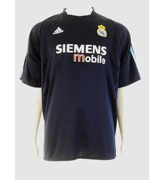 9ef5a909846 Official Adidas Real Madrid Away Shirt 2003-04 - R. Carlos No. 3
