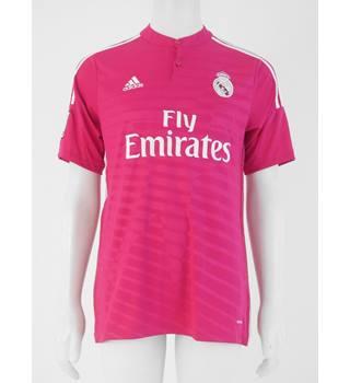 4ef568134 Real Madrid Away Benzema 9 Shirt 2014 - 2015 - Size L