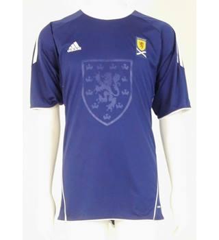 563b79a09fb Official Adidas Scotland 2010-11 Home Football Shirt Size XL