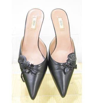 b3efd9a2a54 Prada - Size: 3 (35) - Black - Kitten heel Sliders