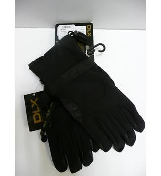 c1a7470fbe8fe DLX Leather soft shell gloves DLX - Size  L - Black
