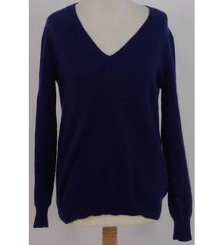 3615db23d60 Uniqlo Size XL Navy Blue Cashmere Jumper