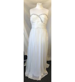 e171cc2591b4 JS Boutique Wedding Dress JS Boutique - Size: 12 - Cream / ivory