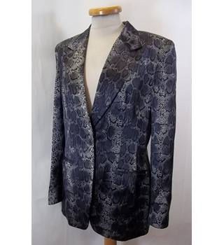 67282b5001694 AUGUST SILK COLLECTION - Size  10 - Snake pattern - Smart Jacket