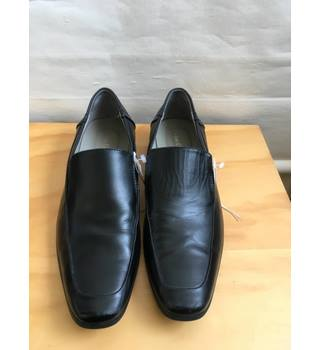 size 40 5cfd3 5681d CALVIN KLEIN LEATHER BLACK SHOES - US Size 9 1 2 M Calvin Klein -