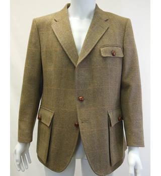 Sweaters Women's Clothing Latest Collection Of Hobbs Work Black Green Tartan Cardigan 12 Silk Wool Cashmere Vgc