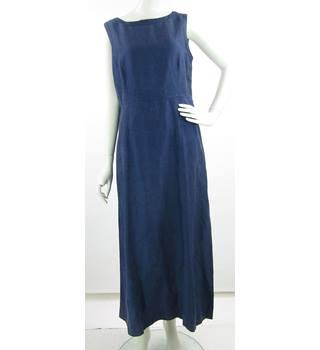 c2879ee87ad Vintage - 1990 s - Laura Ashley - Size  16 - Navy Blue - Silk
