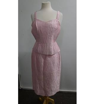 06dcb339df9 Womens Gloria Estelle's - Size: 12 - Pink - 3 piece skirt suit