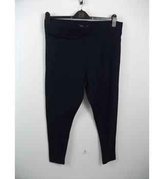 Ladies Nwt Next White Linen Mix Maternity Trousers Size 8 Reg Pants
