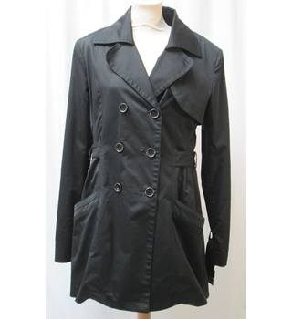 ad9c3ef81 Guess - Size  12 - Black - Double Breasted Short Raincoat