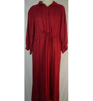 e72dba25 Topshop Vintage Red Dress Topshop - Size: 14 - Red - Vintage
